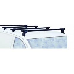 Juego de 2 barras portaequipaje para Volkswagen Transporter T5 y T6