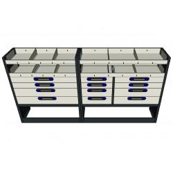 Muebles para equipamiento de furgonetas taller y furgones industriales