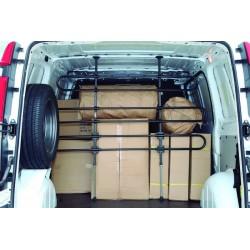 Separador de carga mini, extensible para furgoneta