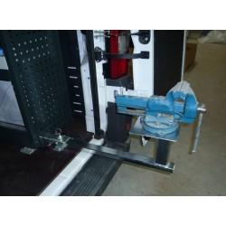 Equipamiento banco de trabajo de furgoneta extensible para tornillo de banco