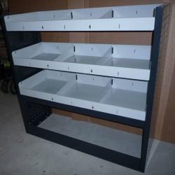 Muebles para equipamiento de furgones y furgonetas industriales