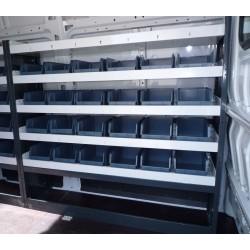 Accesorio para herramienta y recambios en furgonetas industriales