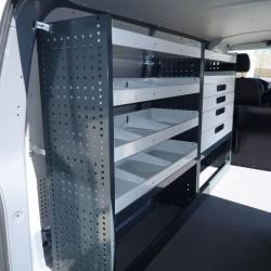 Accesorio para equipamiento de taller móvil en furgoneta industrial