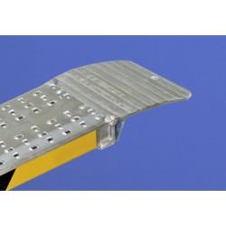 Rampas de aluminio fijas para furgonetas, furgones, remolques, motos