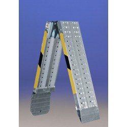 Rampas de aluminio plegables de 1,5 metros y hasta 2100 kilos de carga