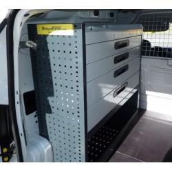 Mobiliario de equipamiento taller para furgonetas y vehículos taller