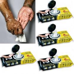 Toallitas limpiadoras para mecánicos e instaladores, lote de 4 envases de 40 toallitas.