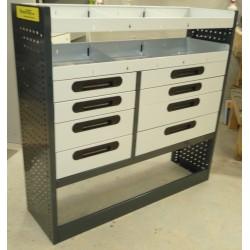 Accesorio de equipamiento taller móvil para furgón industrial