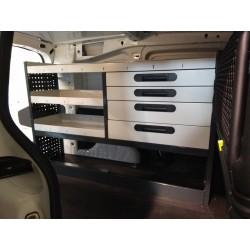 Equipamiento interior de furgoneta taller y furgón industrial