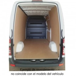 Ducato L4 / H2, paneles interiores de protección para furgoneta.