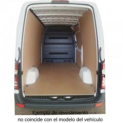 Sprinter L3 Larga, paneles interiores de protección para furgoneta.