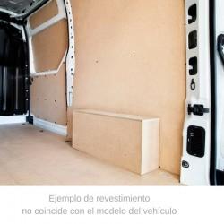 Boxer L4 / H2, paneles interiores de protección para furgoneta.