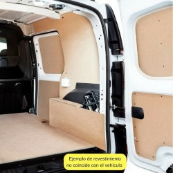 Kangoo L1 Compact, paneles interiores de protección para furgoneta.