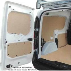 Caddy L1 Furgón, paneles interiores de protección para furgoneta.