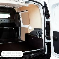Caddy L2 Maxi, paneles interiores de protección para furgoneta.