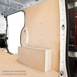 Transporter T-5 L2 Larga, paneles interiores de protección para furgoneta.