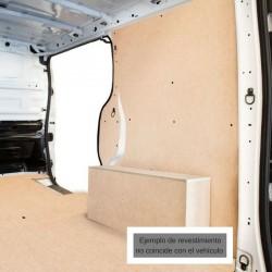 Transporter T-6 L2 Larga, paneles interiores de protección para furgoneta.