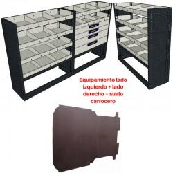 Lote equipamiento completo para Fiat Scudo L2