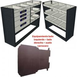 Lote equipamiento completo para Fiat Dobló Maxi