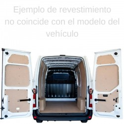 Crafter 2017 L5 Larga con voladizo, paneles interiores de protección para furgoneta.