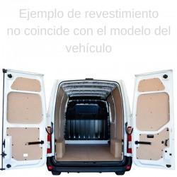 Man TGE L5 Extralarga, paneles interiores de protección para furgoneta.