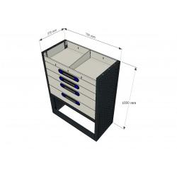 Accesorios para equipamiento de furgonetas y vehículos industriales